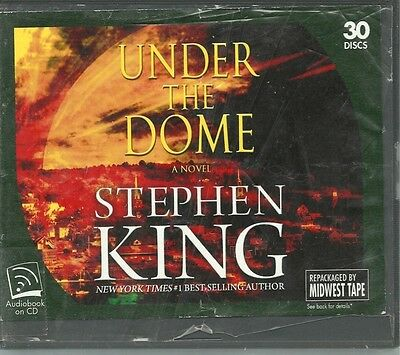 ~UNDER THE DOME by STEPHEN KING~UNABRIDGED CD AUDIOBOOK