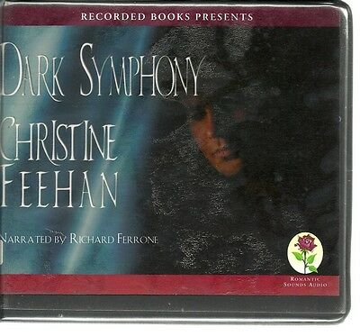 DARK SYMPHONY by CHRISTINE FEEHAN~UNABRIDGED CD'S AUDIOBOOK