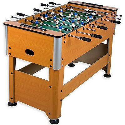 Baby foot Manchester Hêtre incl. Accessoire Football table de baby-foot