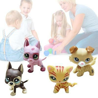 1pc new Littlest Pet Shop Cat Dog Animal Figures Collection kids Child Toys SP