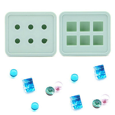 Silicone DIY Mold Making Handmade Pendant Jewelry Resin Casting Mould Craft Tool