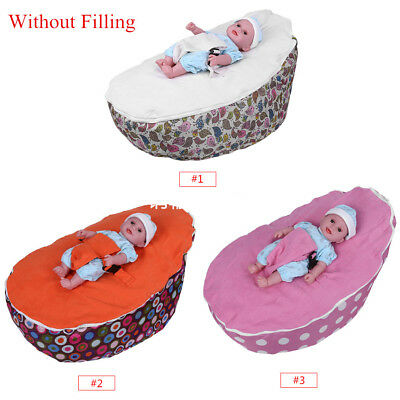 65 x 55 x 40cm Infant Baby Bean Bag Harness Kids Toddler Bed Chair Bouncer
