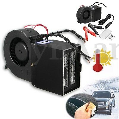 PTC 300W/500W Adjustable Car Auto Heater Hot Fan Defroster Demister Heating 12V