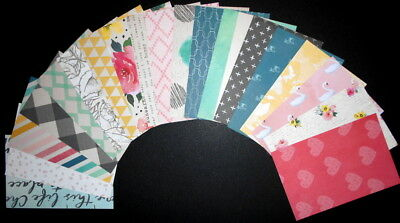 """VINTAGE ESCAPE""   Scrapbooking/Cardmaking Papers X 19 - 15cm x 10cm (6"" x 4"")"