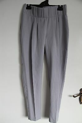 ASOS  Maternity womens  size 8 pregnancy  Light grey pants trousers exc cond