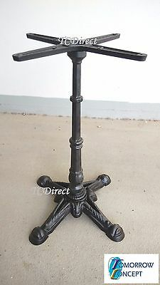 Classic Style Cast Iron 4 jaw 52cm, H 72cm Restaurant Cafe Table Base (TJ9037)