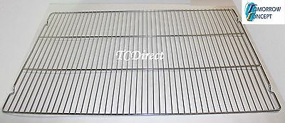 5x Stainless Steel 600x400 Baking Grill / Cooling Tray for Bakers Trolley