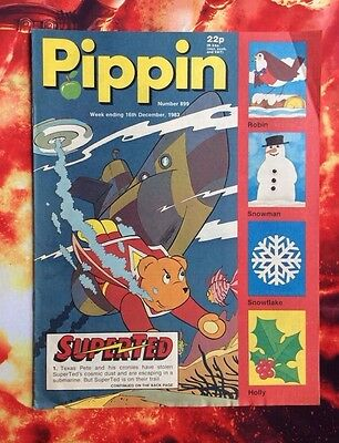 Pippin Comic 16 December 1983. No.899. Vfn.  Unread Unsold Newsagents Stock.