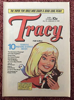 TRACY COMIC  9 FEBRUARY 1980. No. 19  VFN+ EXCELLENT CONDITION.