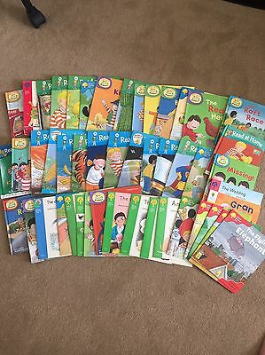 The Oxford Reading Tree Books - Biff & Chip - Set Of 48 - Levels 1-6