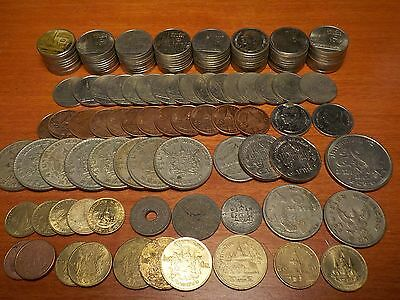 Mixed Lot of Circulated Coins from Thailand