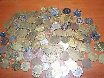 Mixed Lot of Game Tokens