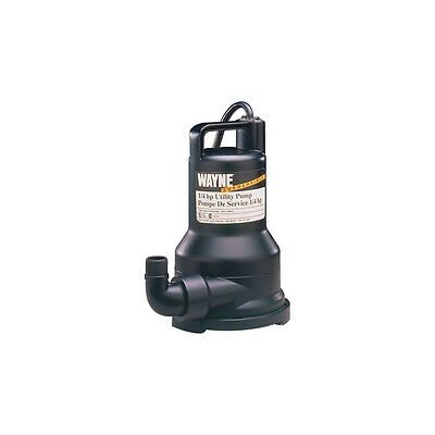 Wayne 1/5 HP Reinforced Thermoplastic Submersible Utility Pump VIP15