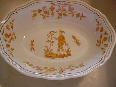 Longchamps China-Olerys Pattern- Wolf And Peasant-Vegtable Serving Bowl