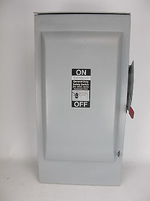 Siemens GF224NR Fusible General Duty Safety Switch Type VB II 200 Amp 240VAC