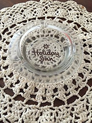Old Holiday Inn Hotels Clear Ashtray