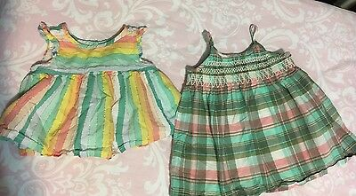 Lot Of 2 Girl's Baby Gap 12-18 Month Tops