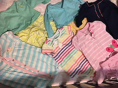 Lot Of Baby Girl Outfits- 5 Carter's 9 Mos, 1 Circo 6-9 Mos