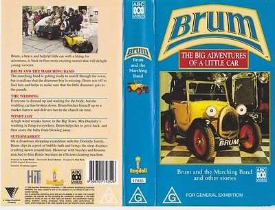 Brum And The Marching Band  Vhs Video Pal~ A Rare Find~