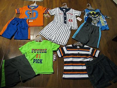 New 10 Pc. Lot Baby Boys Clothes 24 Months 24M Spring Summer Outfits Sets NWT