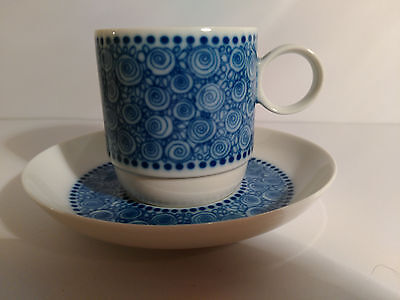 Rosenthal Germany Nordic Espresso Cup And Saucer