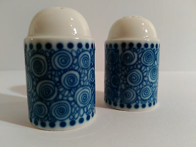 Rosenthal Germany Nordic Salt And Pepper Shakers