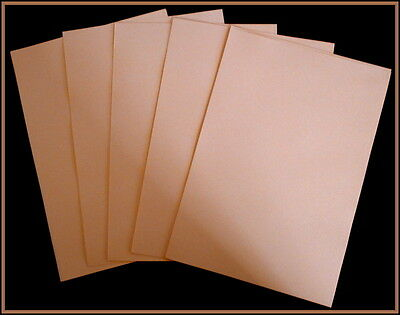 A5 COLOURED PAPER x 40  - KULA CREAM-  PERFECT FOR CARD INSERTS