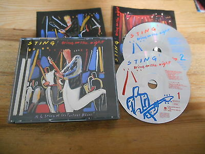 CD Pop Sting - Bring On The Night 2CD Box (13 Song) A&M REC The Police