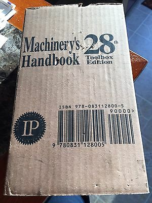 Machinery's handbook 28th Edition New In Box