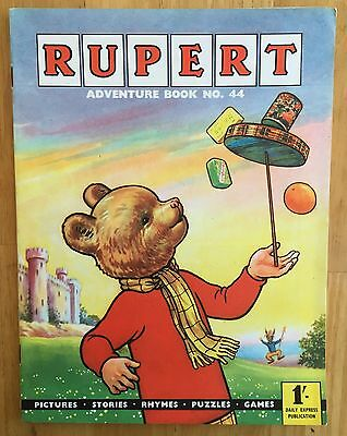 Rupert Adventure Series 44 Bestall 1961 All Puzzles Untouched Fine
