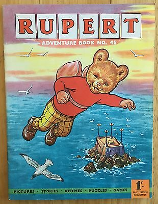 RUPERT ADVENTURE SERIES 45 BESTALL 1961 ONE PUZZLE DONE Very FINE