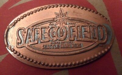 Seattle Mariners elongated penny USA cent Baseball souvenir coin Safeco Field