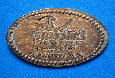 SternWheel Regatta elongated penny Charleston WV USA cent souvenir coin