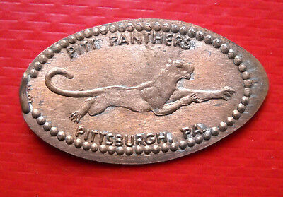 Pitt Panthers elongated penny Pittsburgh PA USA cent souvenir coin NCAA