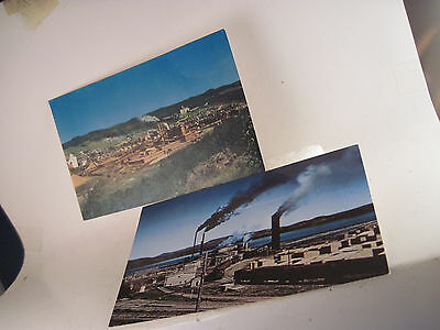 Fraser Paper postcards lot of 2   Cabano & Edmundston  both color