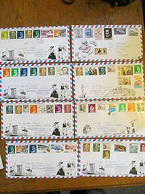 Spain airmails collection