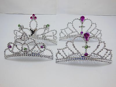 24X Beautiful Plastic Costume Tiaras Combs Party Favor