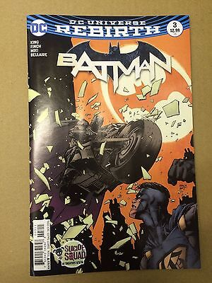 DC comics: BATMAN # 3 , Rebirth, 1st print