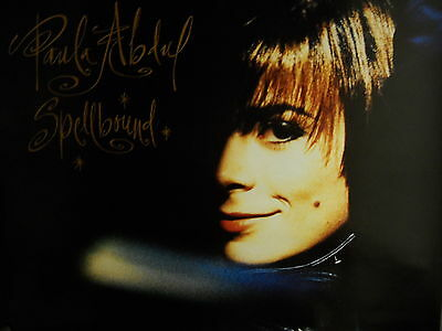 PAULA ABDUL large 1991 PROMO POSTER from SPELLBOUND supermint condition