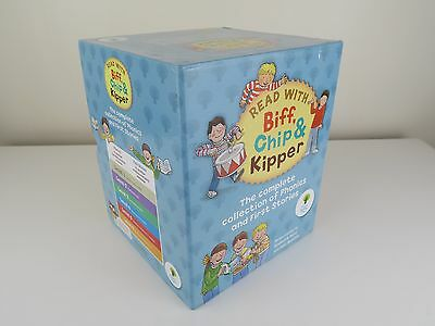 Read With Biff, Chip & Kipper Levels 1-6 Complete Collection Box Set 48 Books