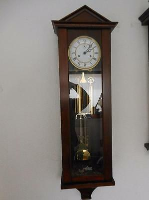 hermle double weight vienna wall clock