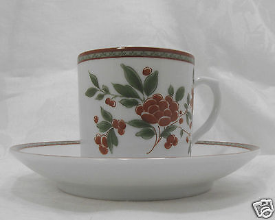 Vista Alegre Demitasse Cup and Saucer  Made in Portugal