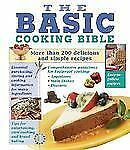 The Basic Cooking Bible Cookbook Hardcover BOOK