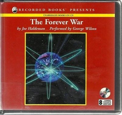 THE FOREVER WAR by JOE HALDEMAN~UNABRIDGED CD AUDIOBOOK