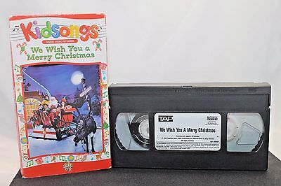 vhs kidsongs we wish you a merry christmas music video stories videotape tested - Kidsongs We Wish You A Merry Christmas