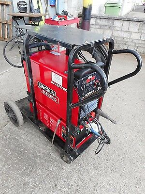 Lincoln Invertec 400Tpx Dc Water Cooled Tig Welder