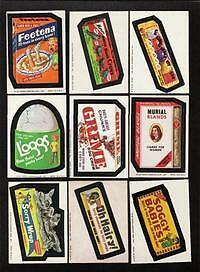1974 Topps Wacky Packages 7th Series 7 Big Muc Complete Set 33/33 NM-