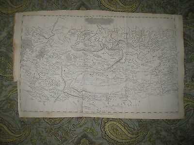Antique 1805 Central Asia Copperplate Arrowsmith Map Mongolia China Tartary Rare