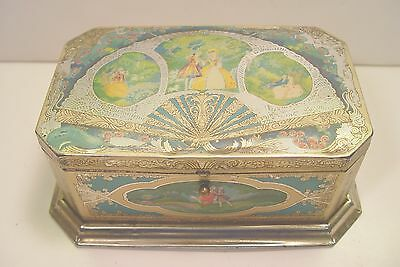 Ornate Metal Chocolate Candy Box From Artstyle Chocolate Co. Boston &  St. Louis