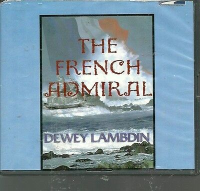 THE FRENCH ADMIRAL by DEWEY LAMBDIN ~UNABRIDGED CD'S AUDIOBOOK